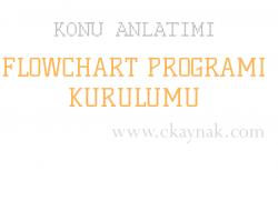 Flowchart Programı Kurulumu (Görsel ve Detaylı Anlatım)